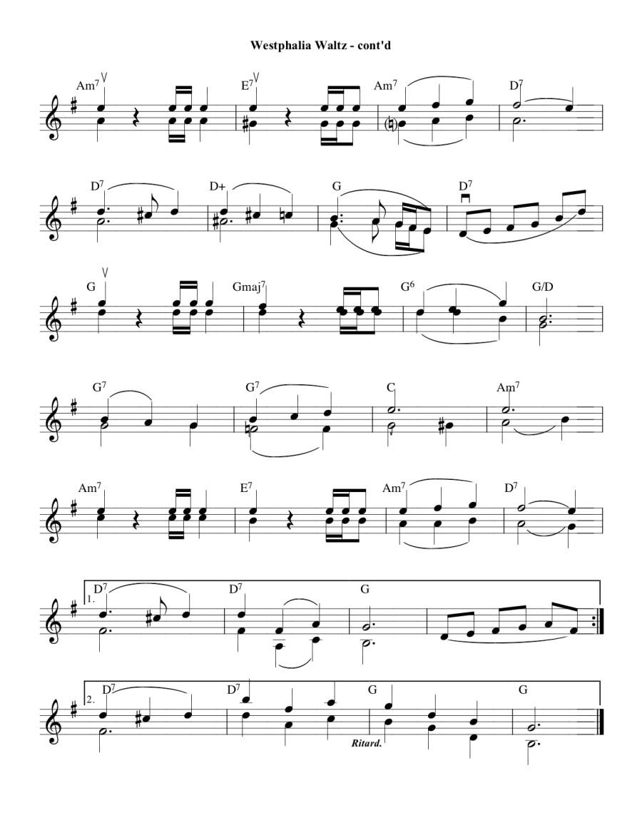 Westphalia Waltz Pg 2